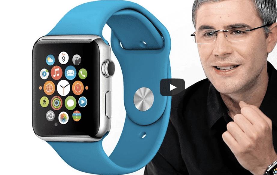 Apple sort l'Apple watch, découvrez la vidéo parodique de Cyprien