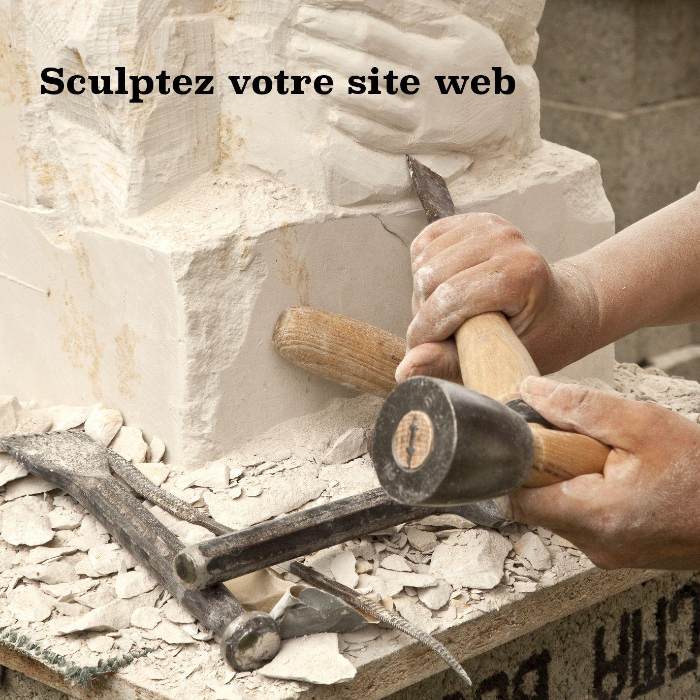 Sculptez votre site web