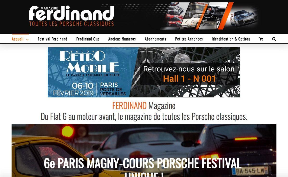 écrans-site-web ferdinand magazine porsche