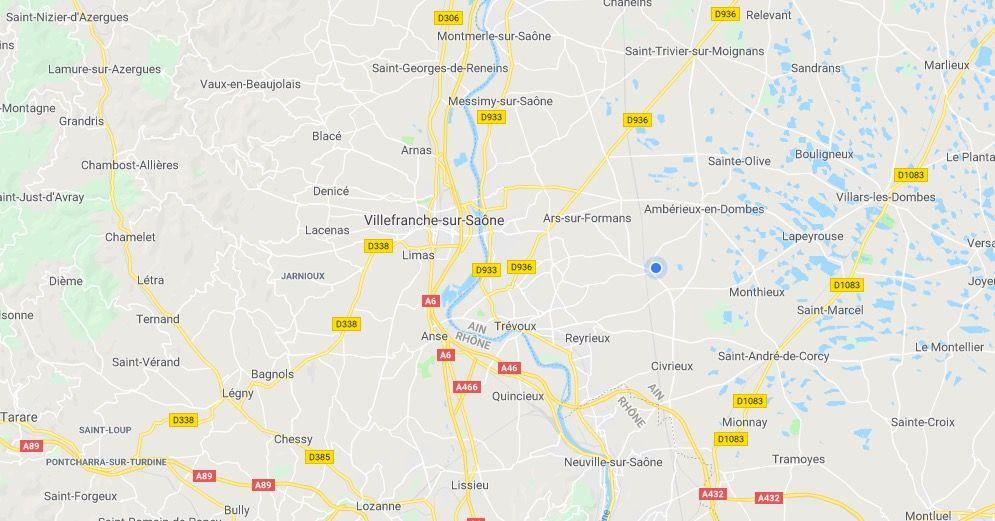 carte-villefranche-sur-saone-et-beaujolais