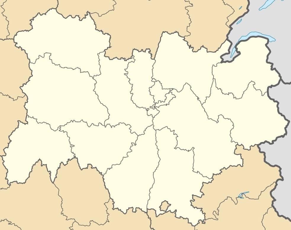 Carte région Auvergne Rhône Alpes