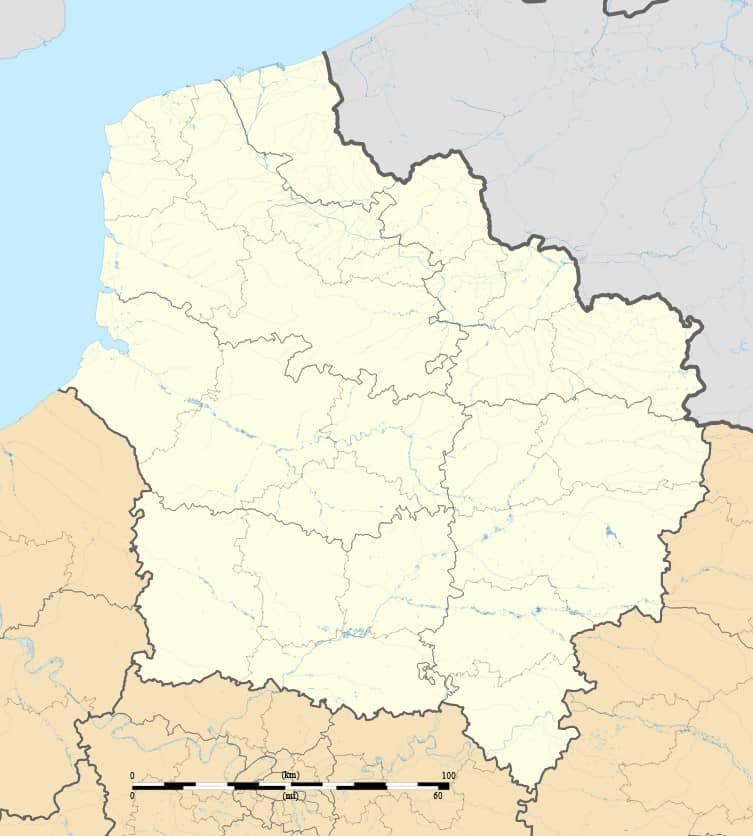 Carte Hauts-de-France