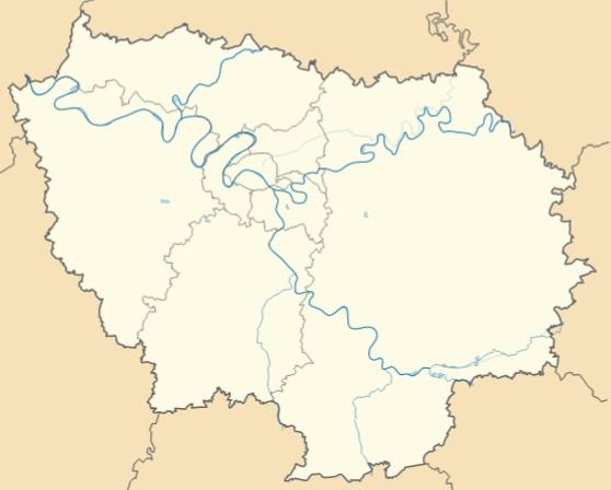 Carte Ile de France